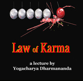 Law of Karma Lecture DVD by Swami Dharmananda