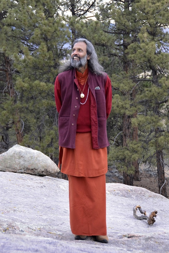 Swami in mountains..